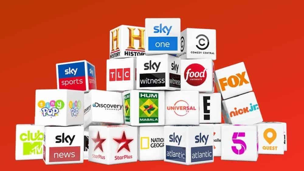 英国のテレビチャンネルのリスト