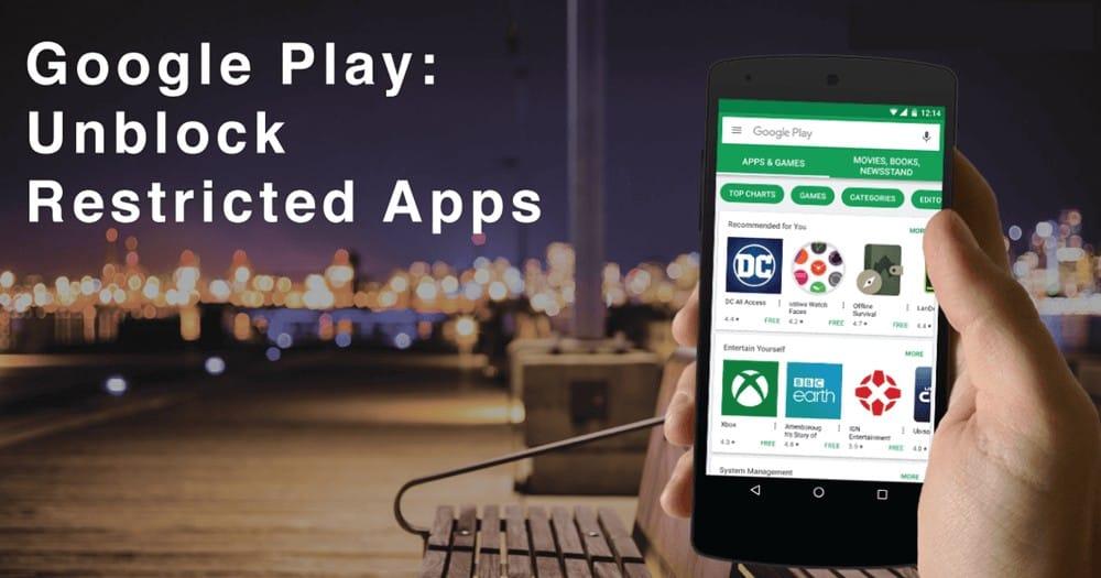 Не могу скачать приложения из Play Store