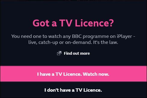 bbc iplayer tv-licentie
