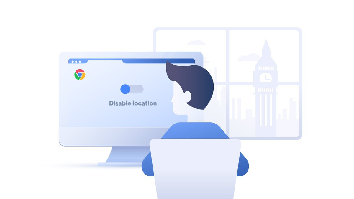 spoof web browser location