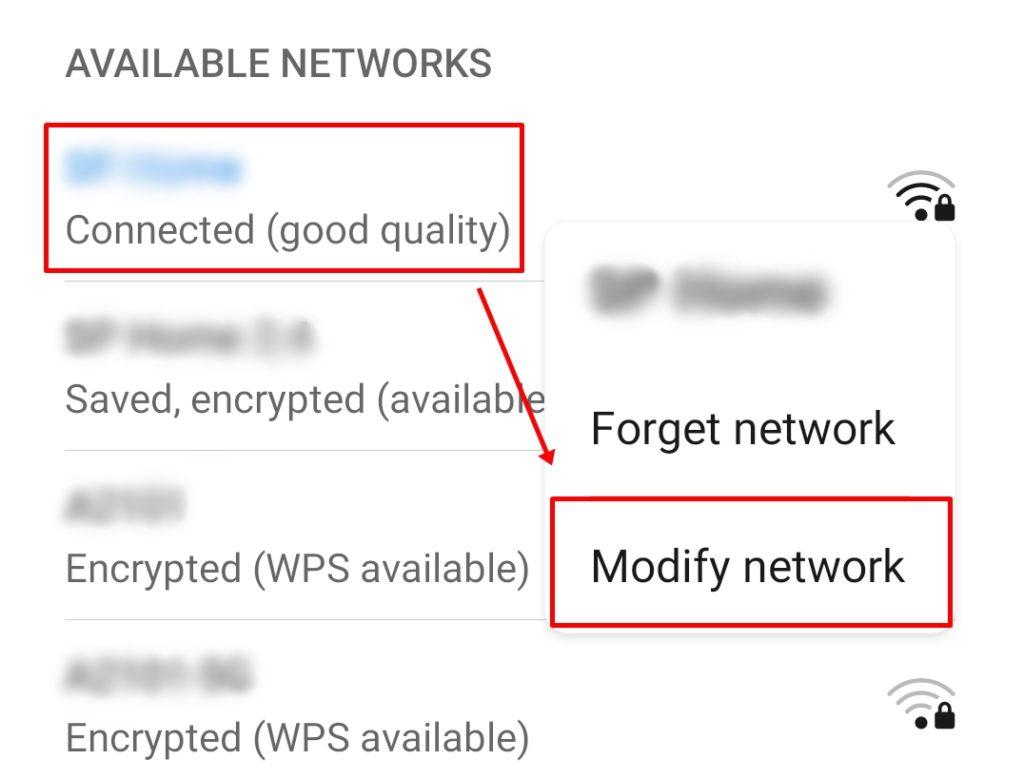 android değiştirme wifi