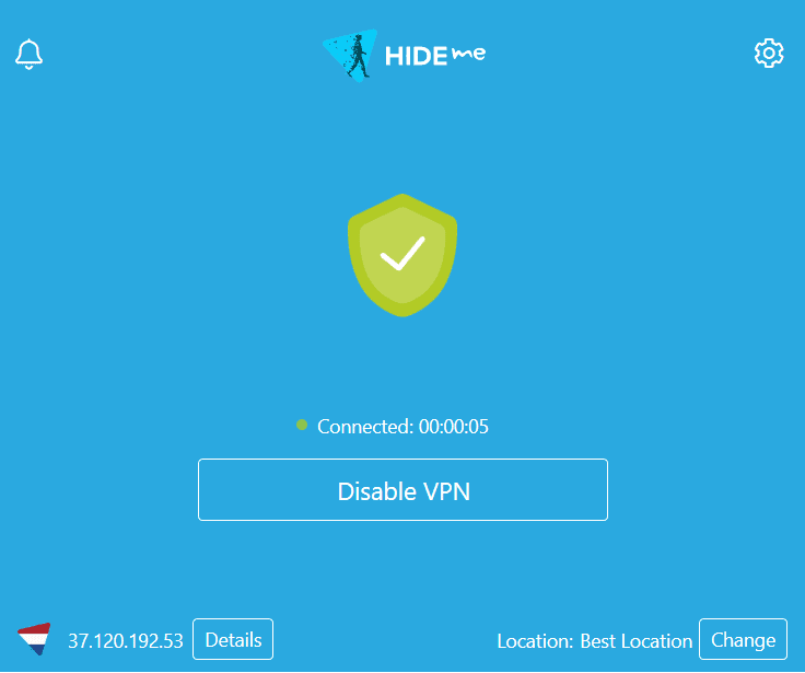 Sembunyikan saya VPN