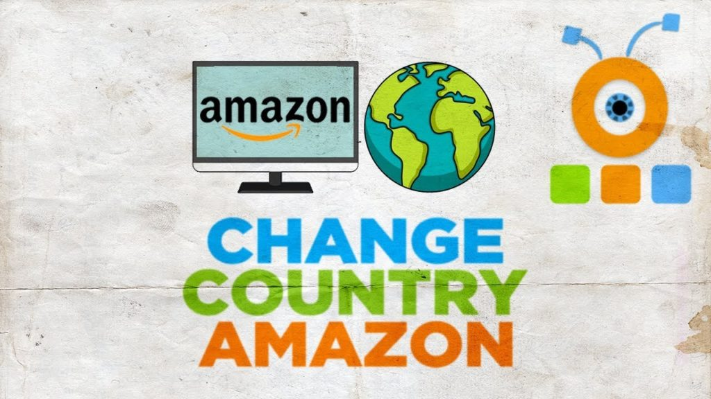 Como faço para mudar meu país na Amazon