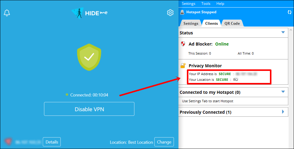 connectify gizlilik monitörü güvenli