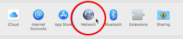 macOSネットワーク設定