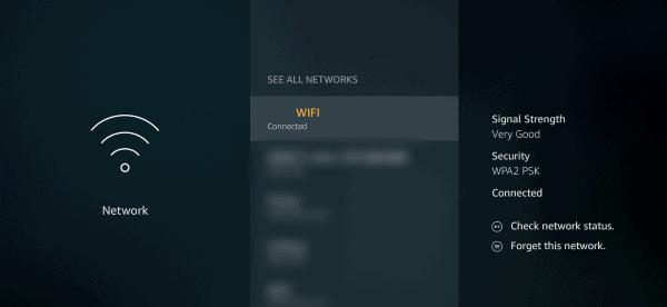 Firestick TV lupa wifi pengaturan