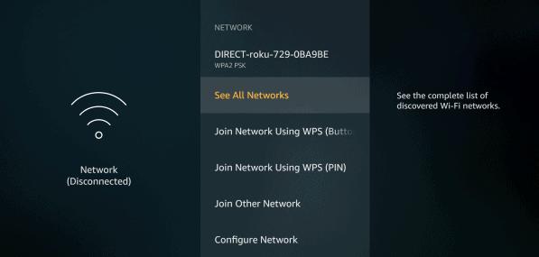 Firestick TV melihat semua jaringan