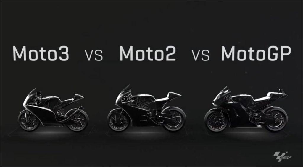 Diferencias entre MotoGP, Moto2 y Moto3