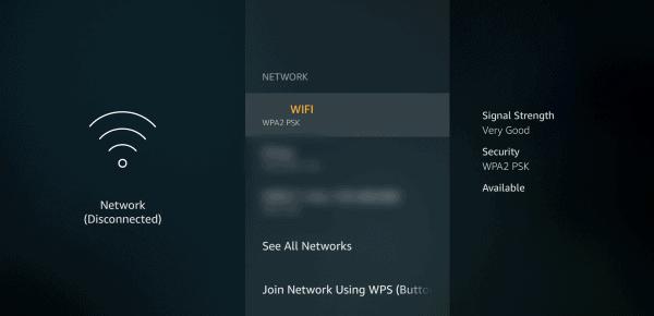 Arus Firestick TV wifi