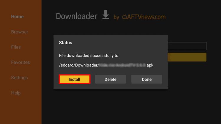 App auf Android TV installieren
