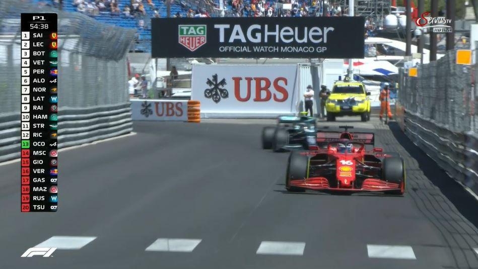 Servus TV의 F1 라이브 스트림