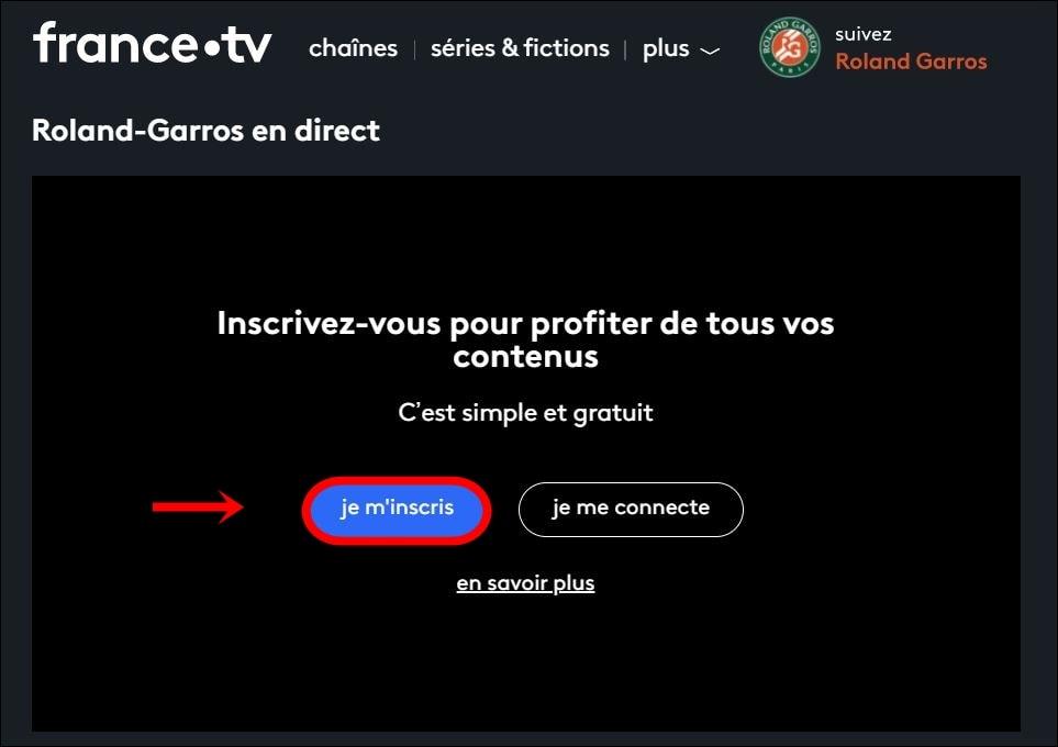 Rejestracja telewizji we Francji