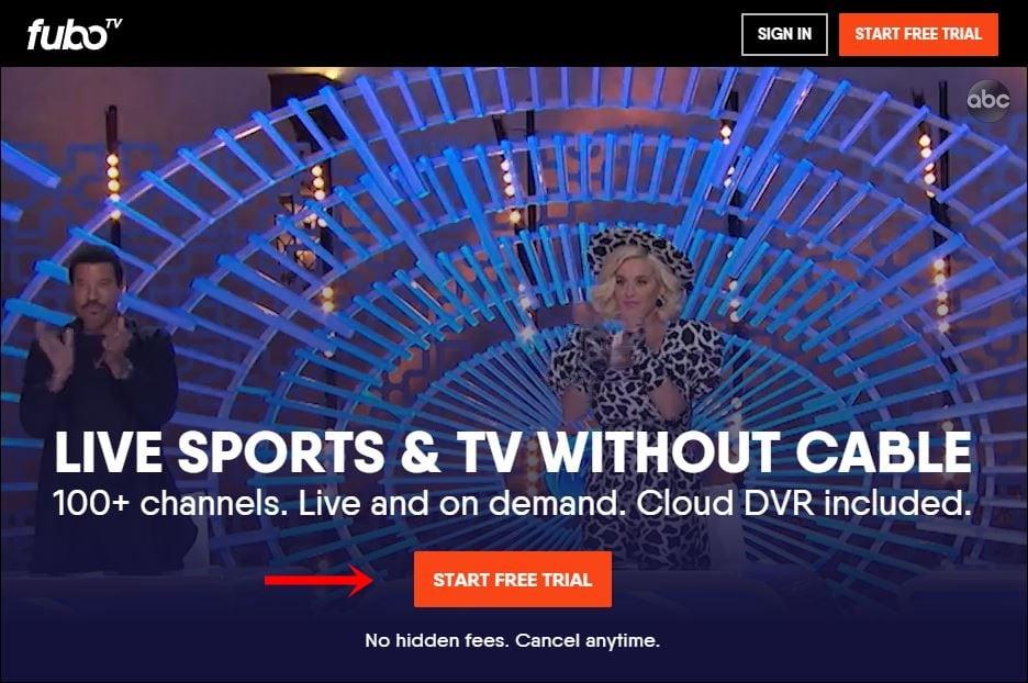 얻는 방법 fuboTV 무료로?