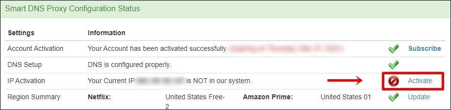Smart DNS Proxy Ha smesso di funzionare