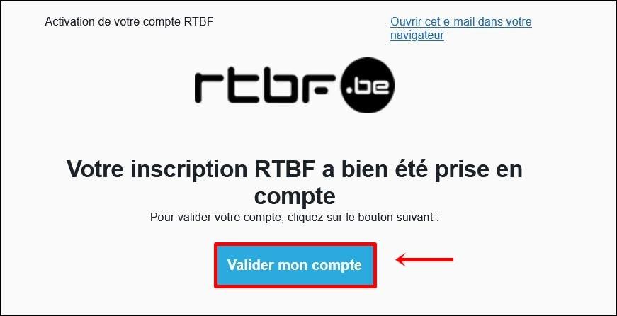 RTBF 이메일 확인