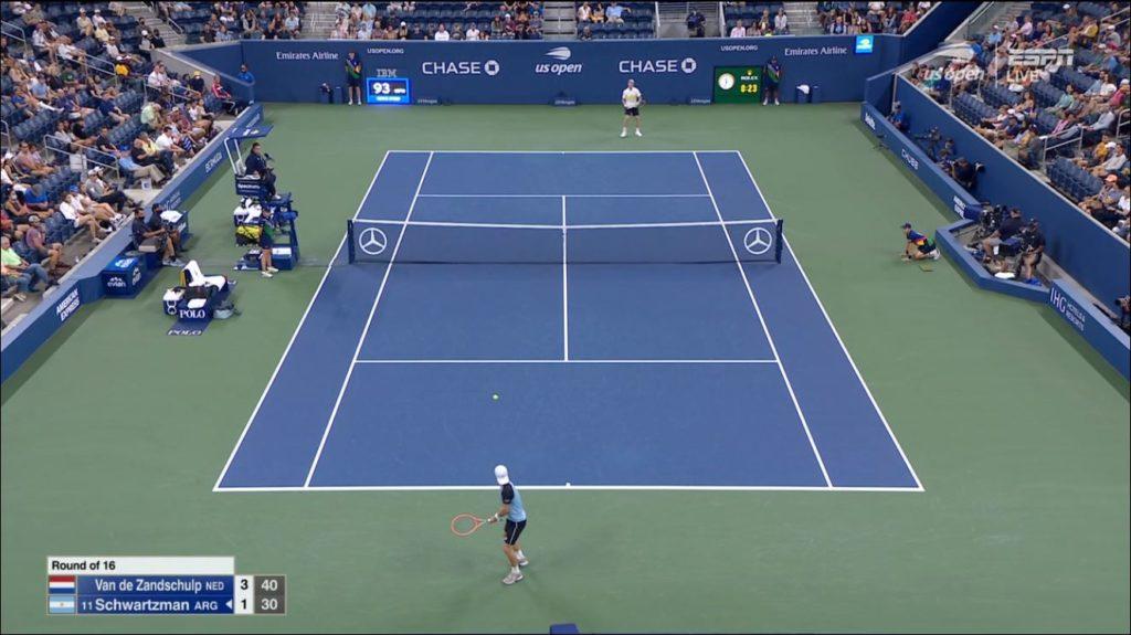US Open live stream via fuboTV
